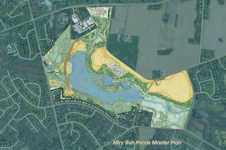 Miry Run Ponds Master Plan - Mercer County Park Commission