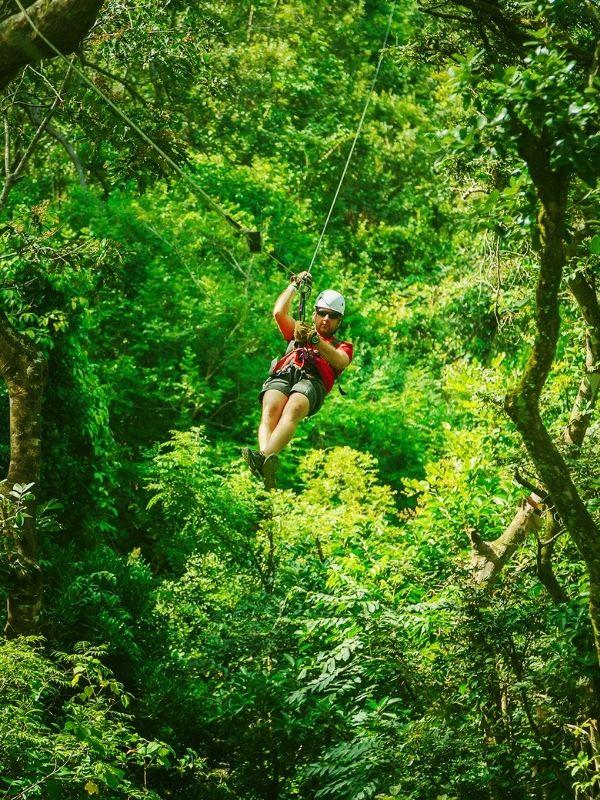 Costa Rica Zipline Rainforest Tour