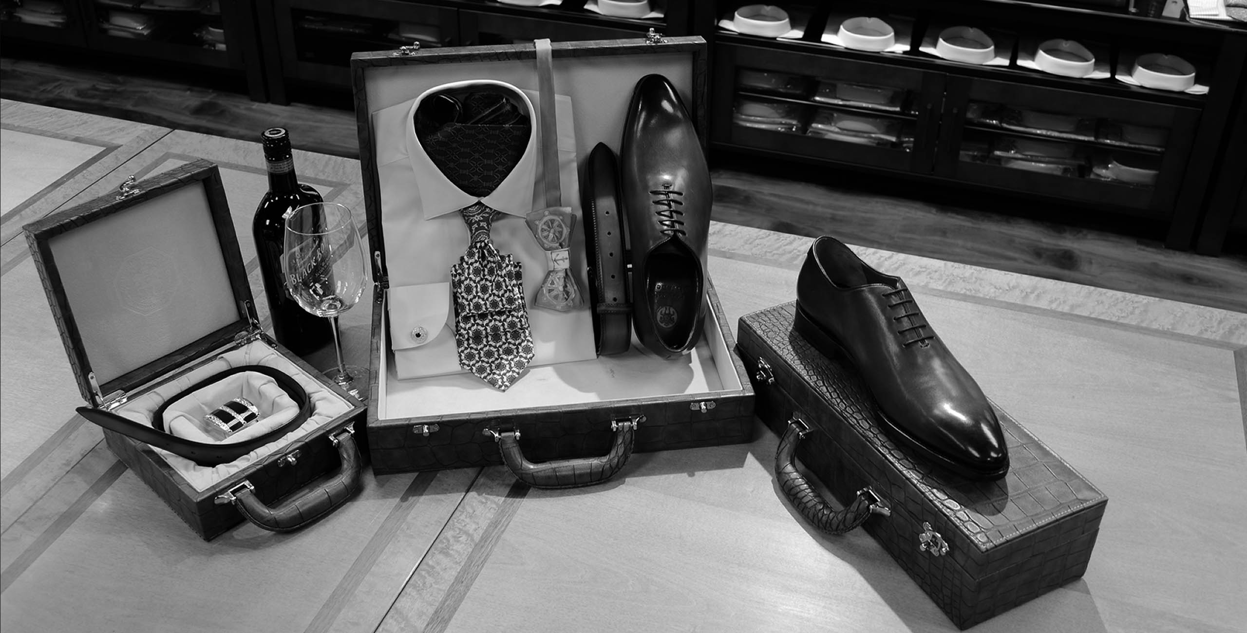 Ferruccio Milanesi Luxury menswear and accessories, one-of-a-kind men's shirts, suits and ties, an exclusive menswear store in Vancouver