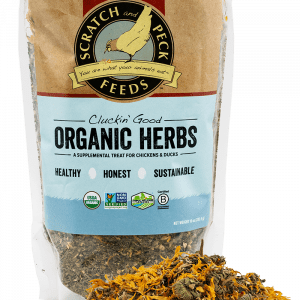 Scratch and Peck Feeds Cluckin' Good Organic Herbs for Chickens and Ducks - 10-o