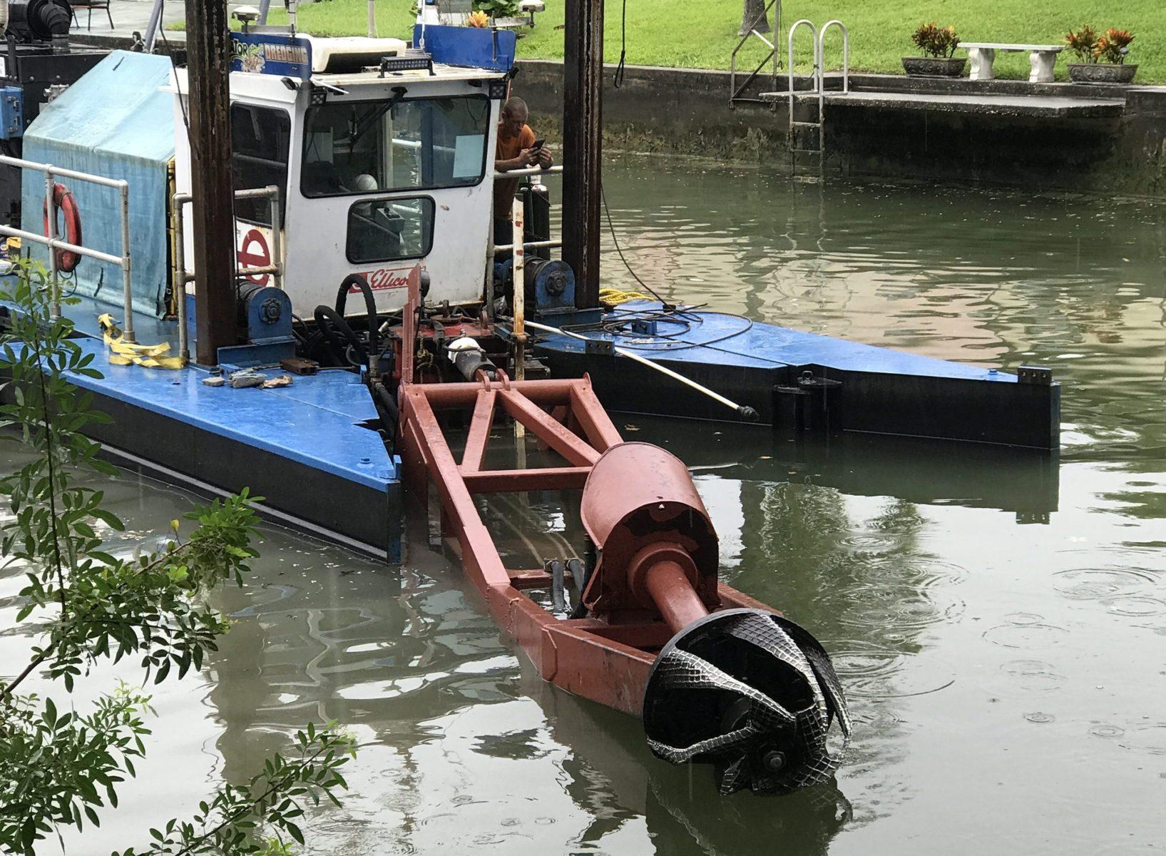 Vacuum Dredge Restoration