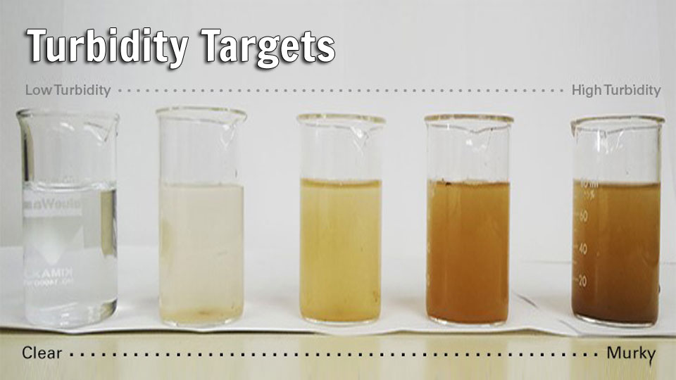 Turbidity and Salinity in Water Quality