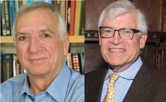 Follow Your Passion: Drs. William Eaton and Richard A. Larson Receive 2019 Henry M. Stratton Medal