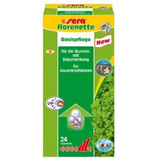 fertilizante en tabletas para plantas acuaticas: florenette 24 tabs, de la marca Sera
