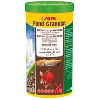 alimento para peces de estanque Pond Granulat, de la marca Sera