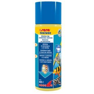 eliminador de toxinas en acuarios toxivec 100ml sera