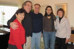Hospitality at Nadia\'s in Ramallah with Ziad and Joyce