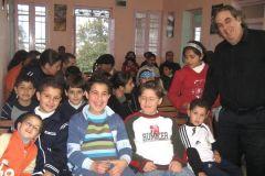 Audience in Jenin
