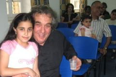 ESTU with young audience member Bethlehem