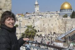 KSTU at Western Wall and Dome of the Rock