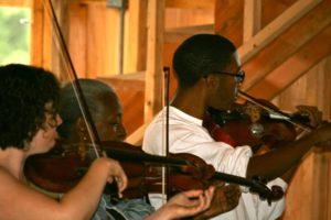 Mendelssohn Octet for Strings performance, Sonad Aug 20111 Workshop Final Concert