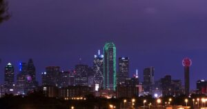 Celebrate NYE at Reunion Tower in Dallas, Texas | H20 Sprinkler Systems