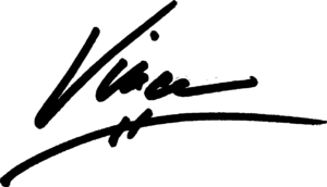 Signature of Vince Duque, founder of Stay On Your Path, a life coaching method