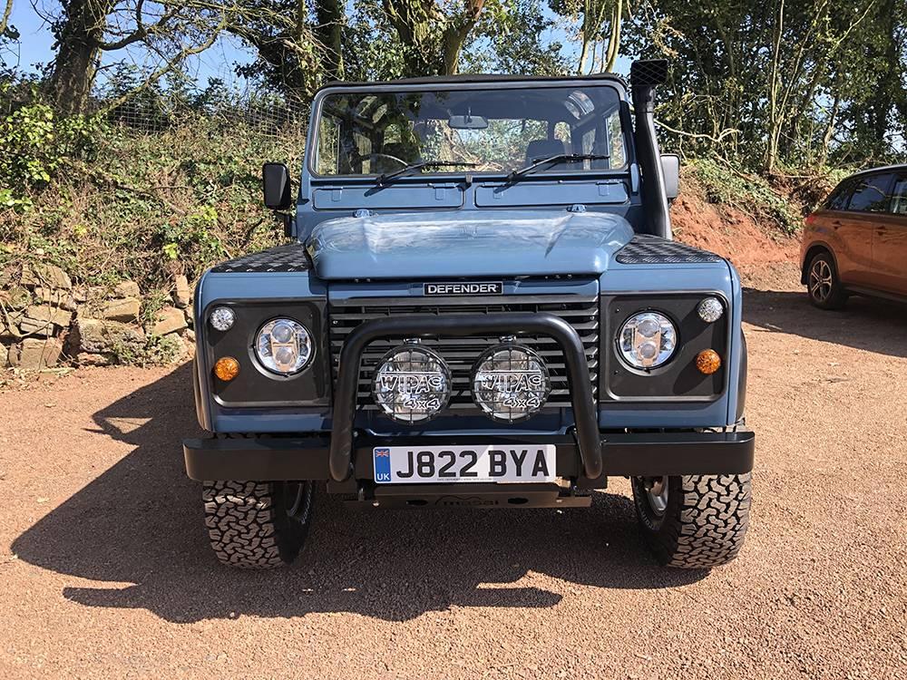 Land Rover Arles Blue 90 29