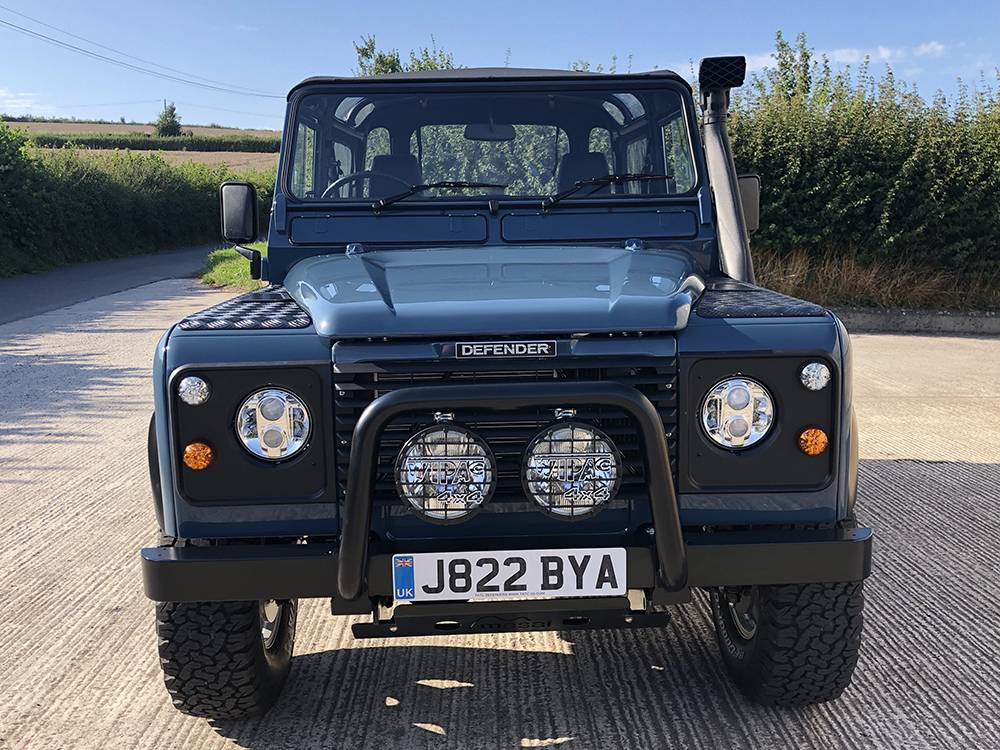 Land Rover Arles Blue 90 39