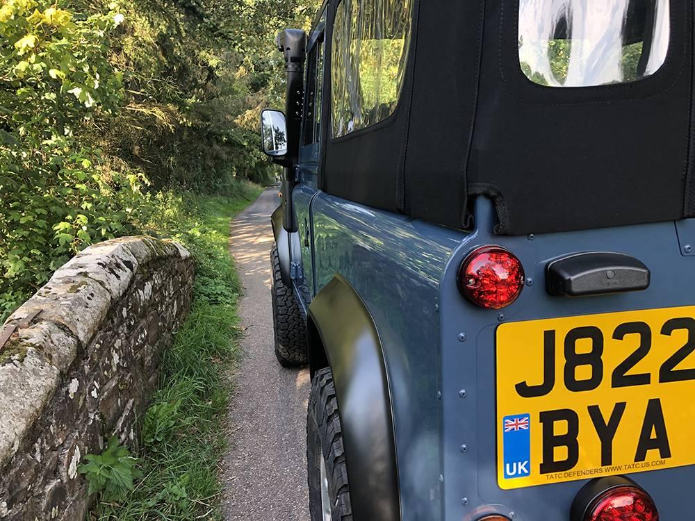 Land Rover Arles Blue 90 49