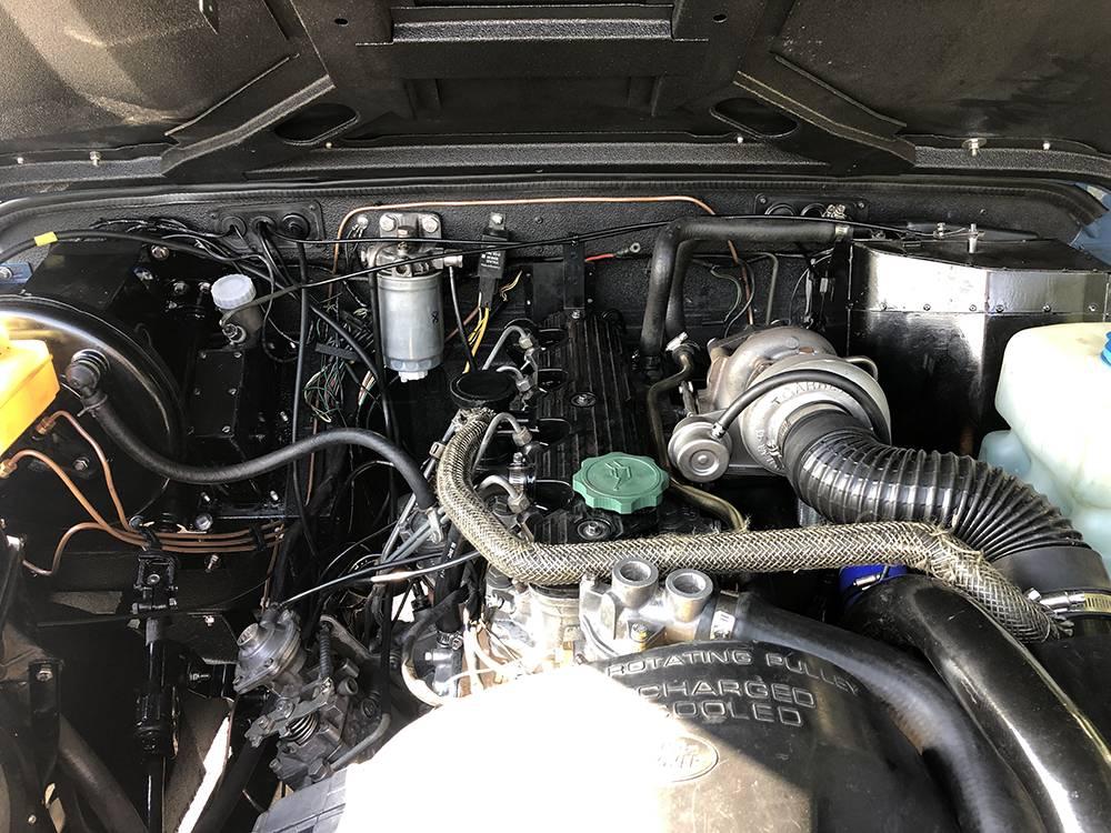 Land Rover Arles Blue 90 61