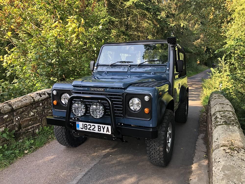 Land Rover Arles Blue 90 73