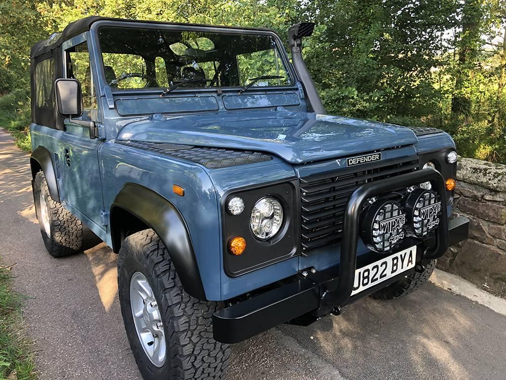 Land Rover Arles Blue 90 75