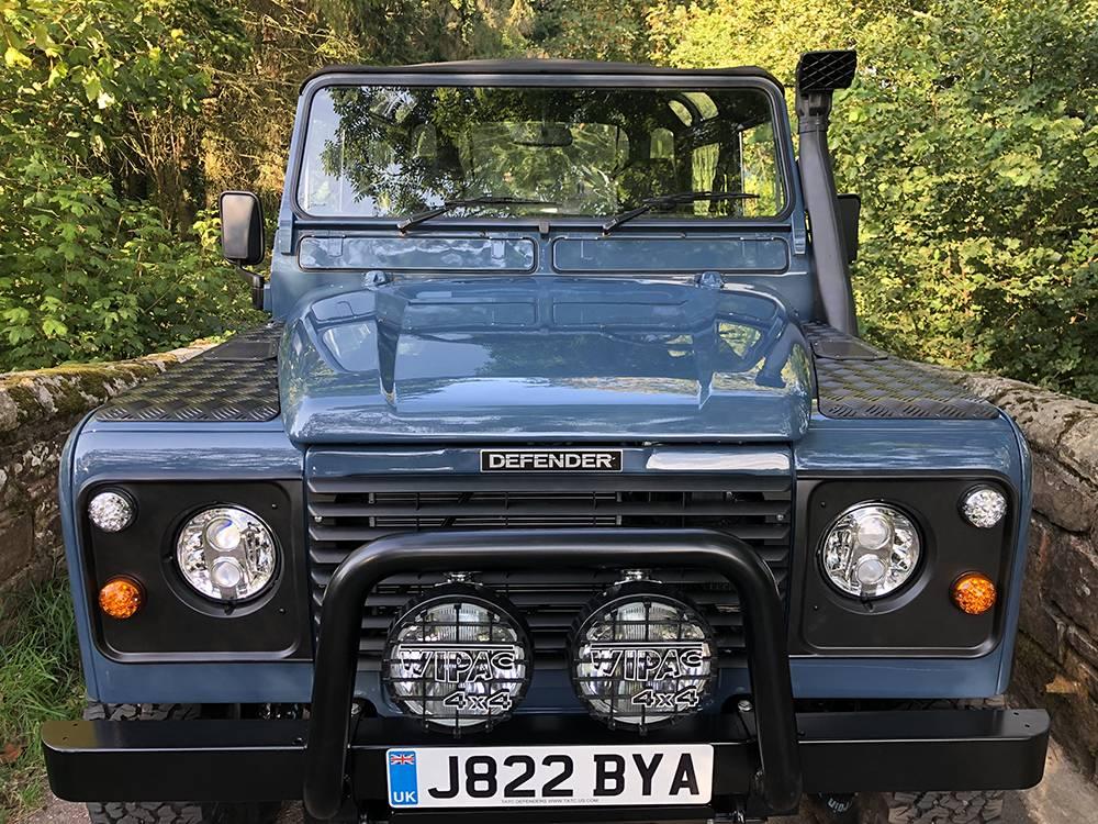 Land Rover Arles Blue 90 79