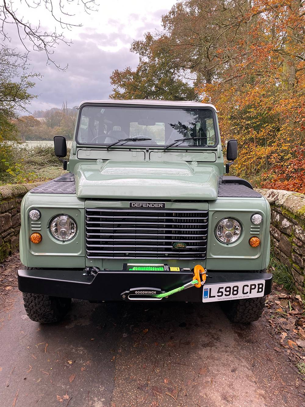 Land Rover D110 Heritage Green 7436