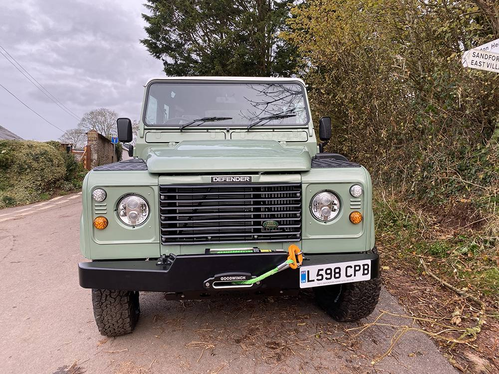 Land Rover D110 Heritage Green 7442