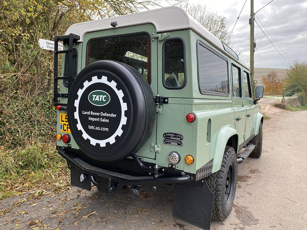 Land Rover D110 Heritage Green 7447