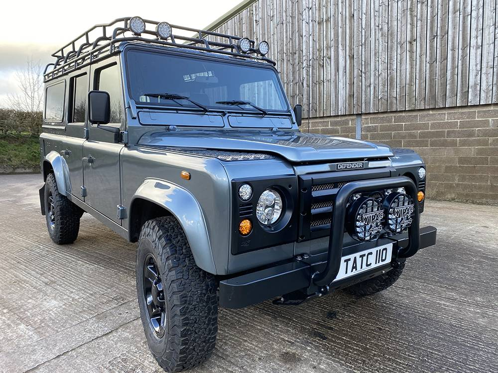 Land Rover D110 Metallic Grey 8518 2