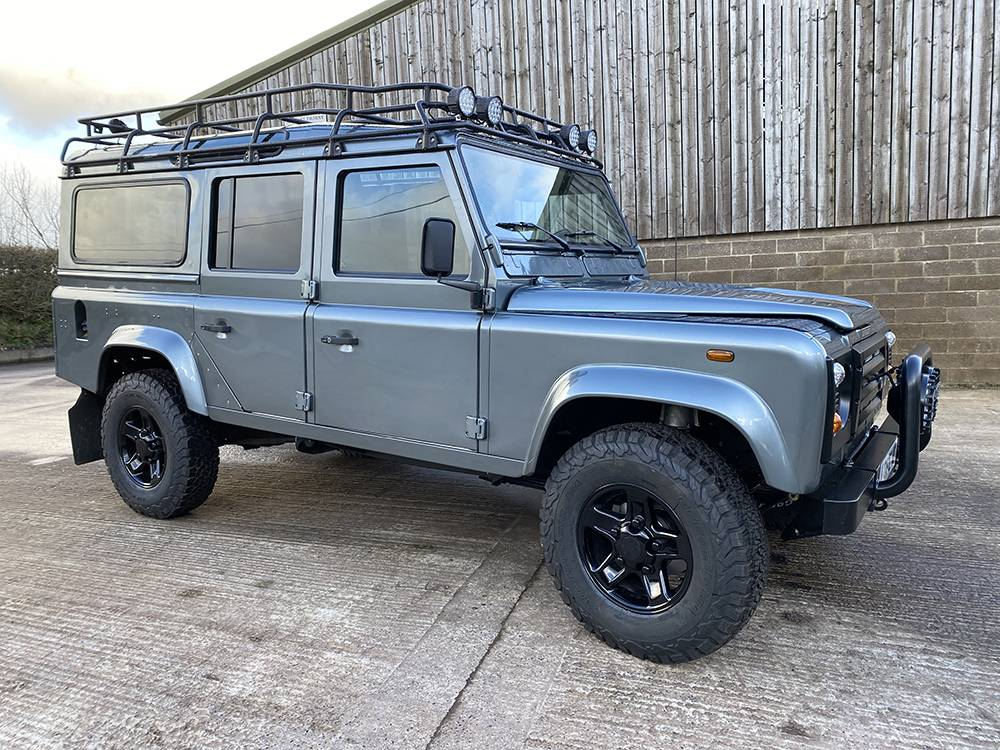 Land Rover D110 Metallic Grey 8519 1