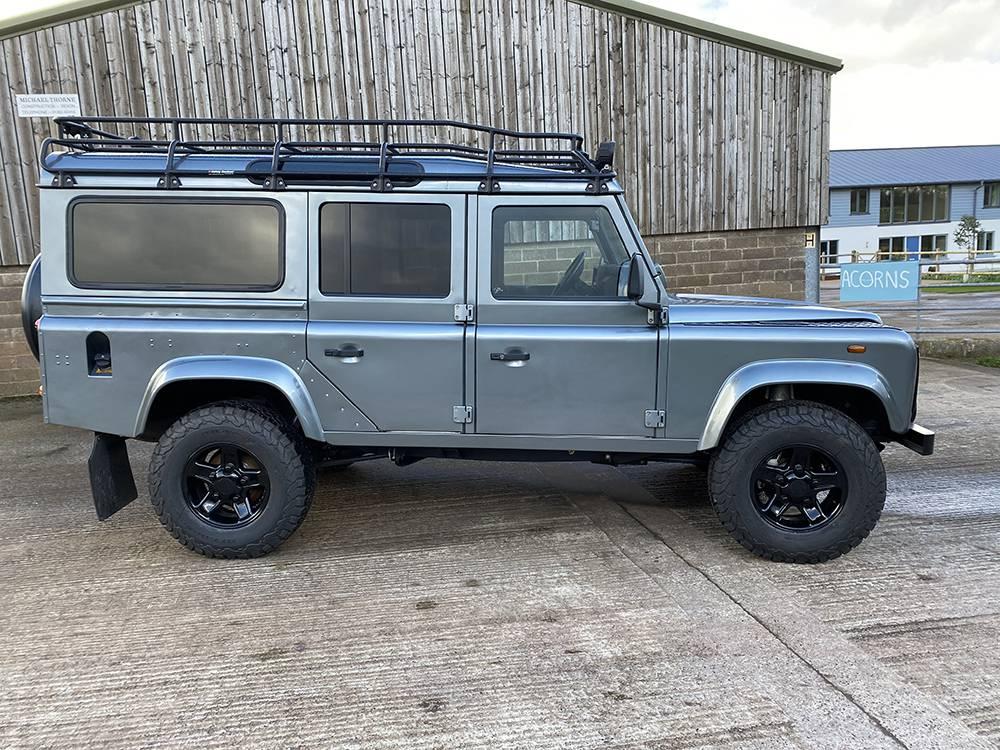 Land Rover D110 Metallic Grey 8520 1