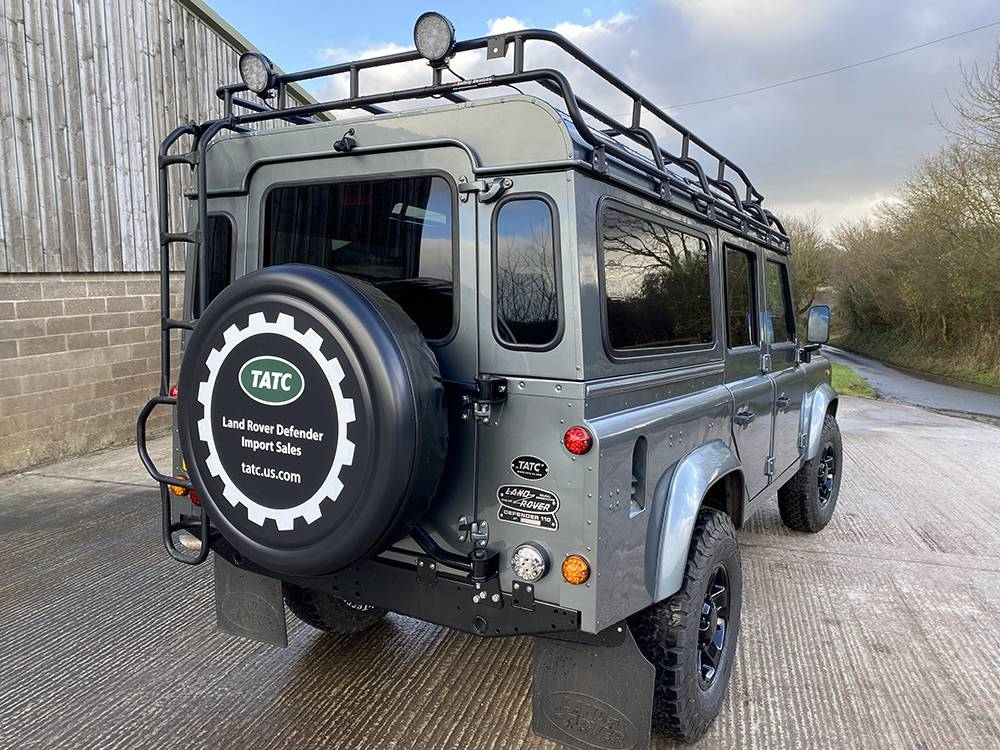 Land Rover D110 Metallic Grey 8522