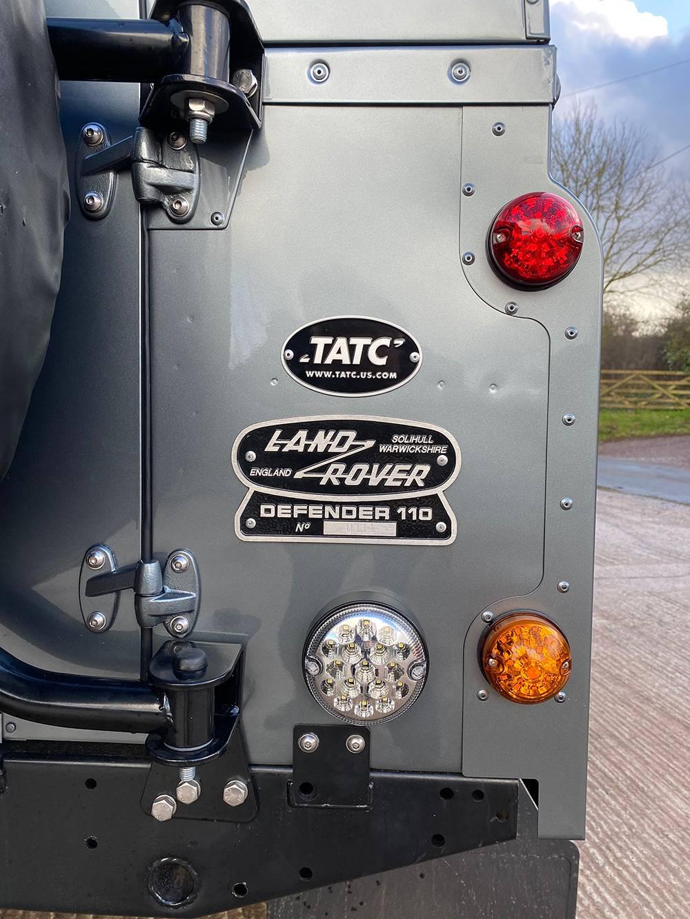 Land Rover D110 Metallic Grey 8525