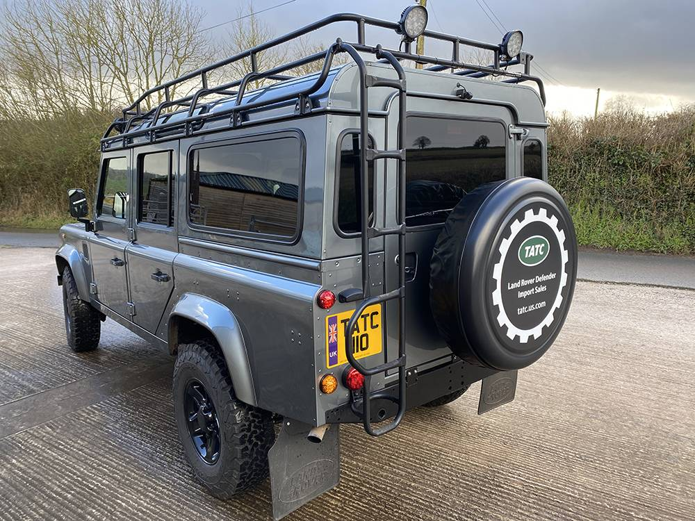 Land Rover D110 Metallic Grey 8526