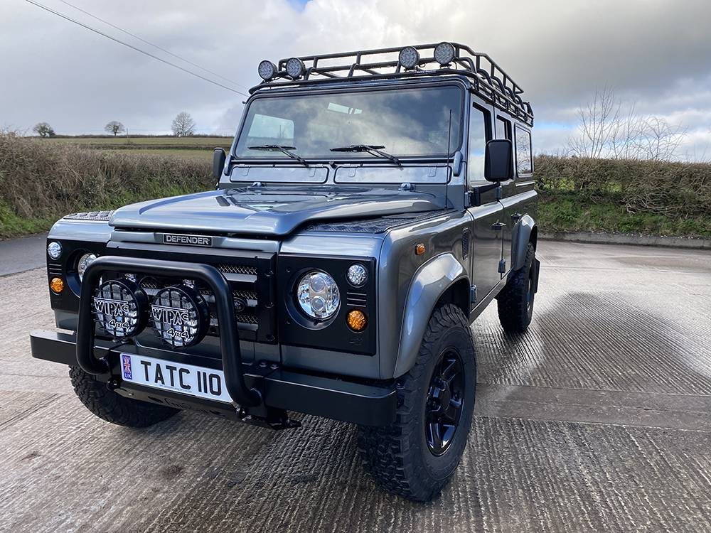 Land Rover D110 Metallic Grey 8530