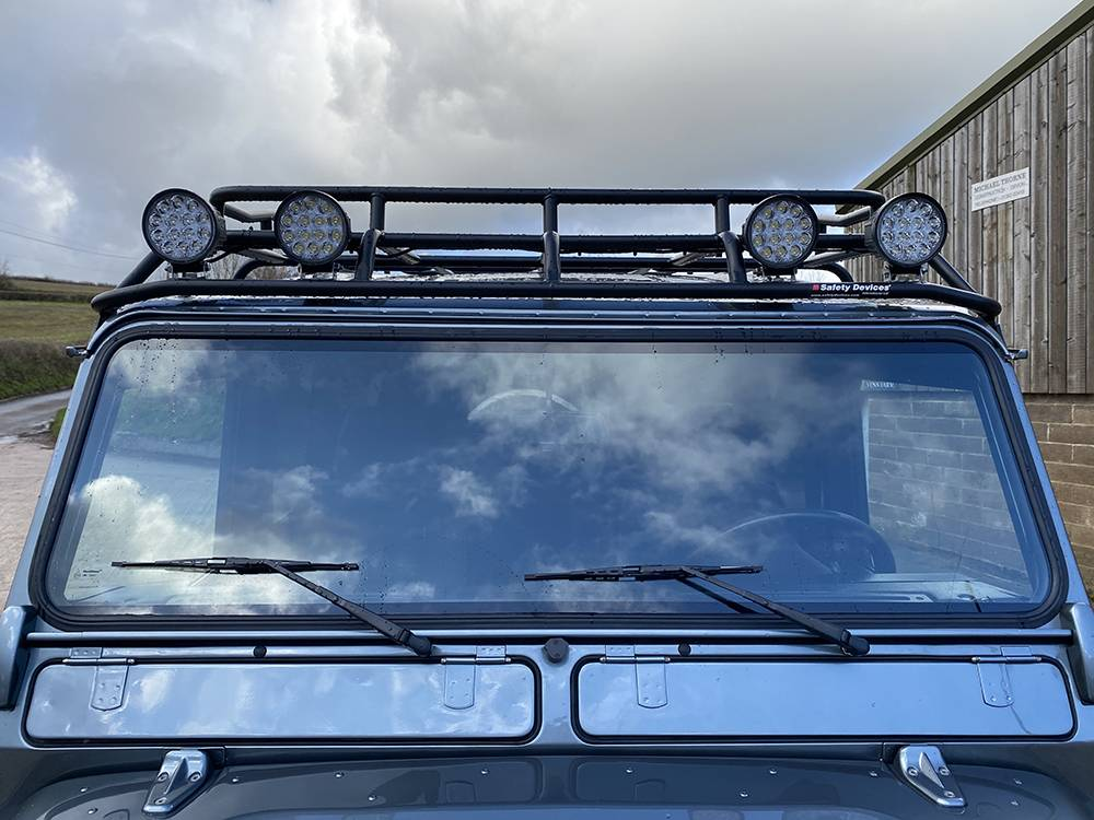 Land Rover D110 Metallic Grey 8534