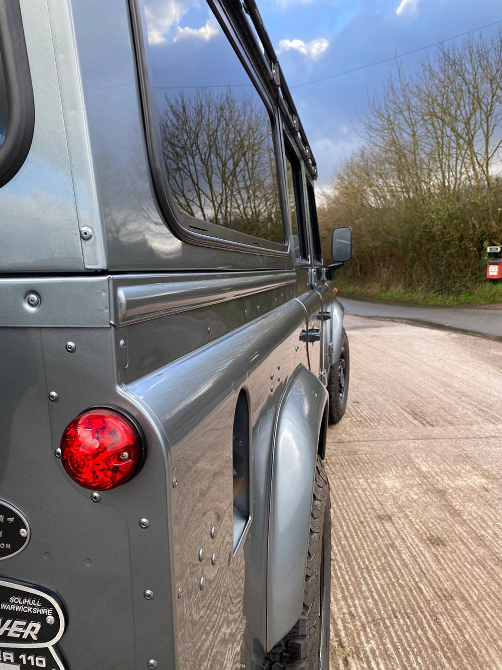 Land Rover D110 Metallic Grey 8536