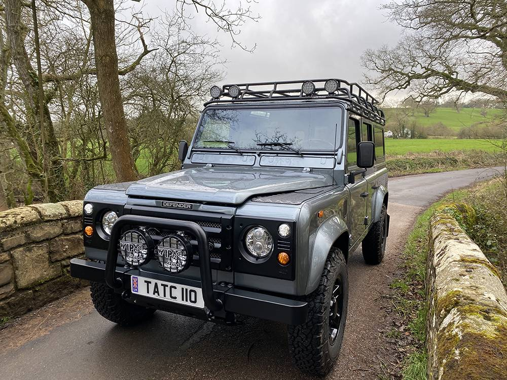 Land Rover D110 Metallic Grey 8569