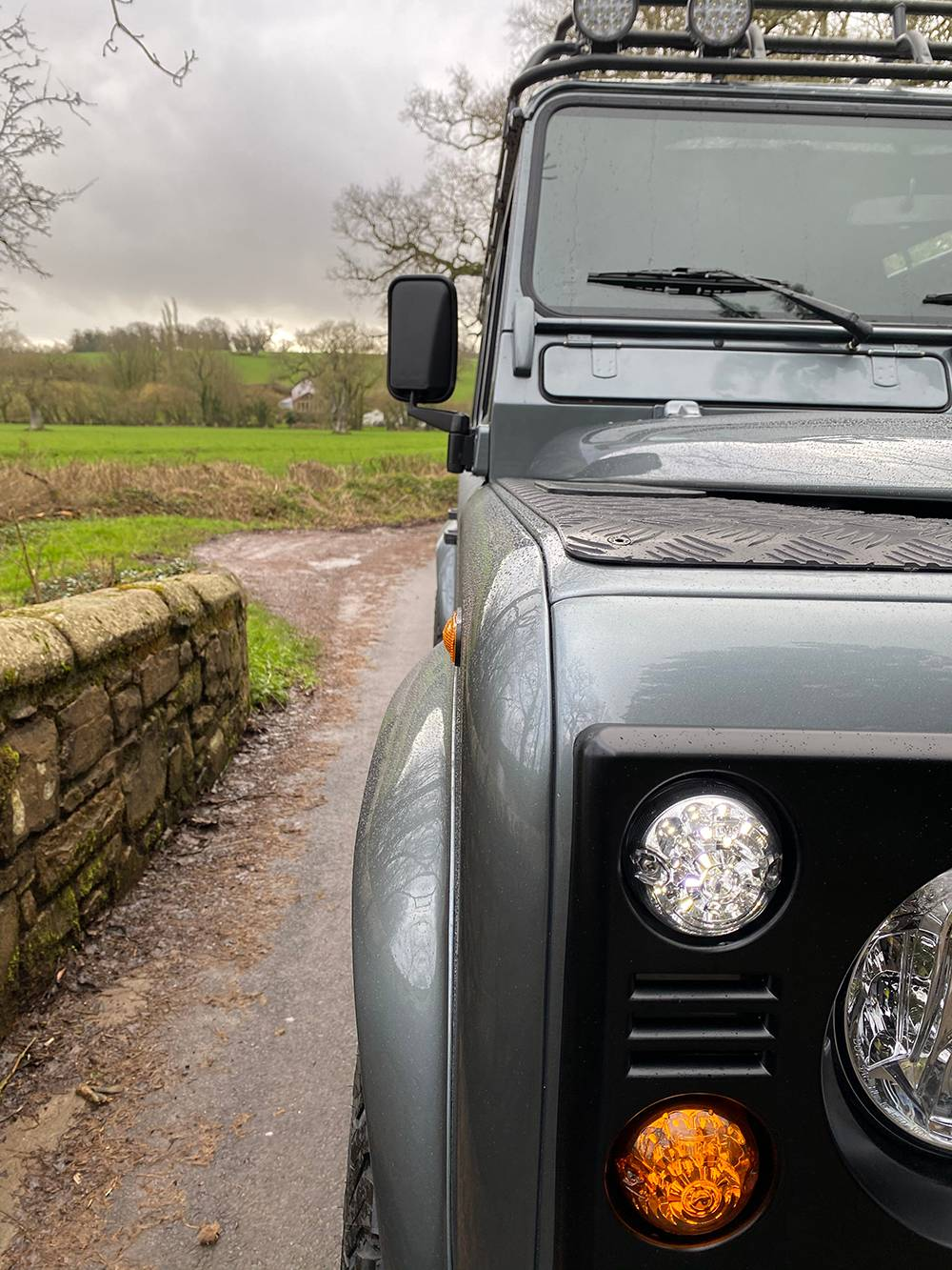 Land Rover D110 Metallic Grey 8572