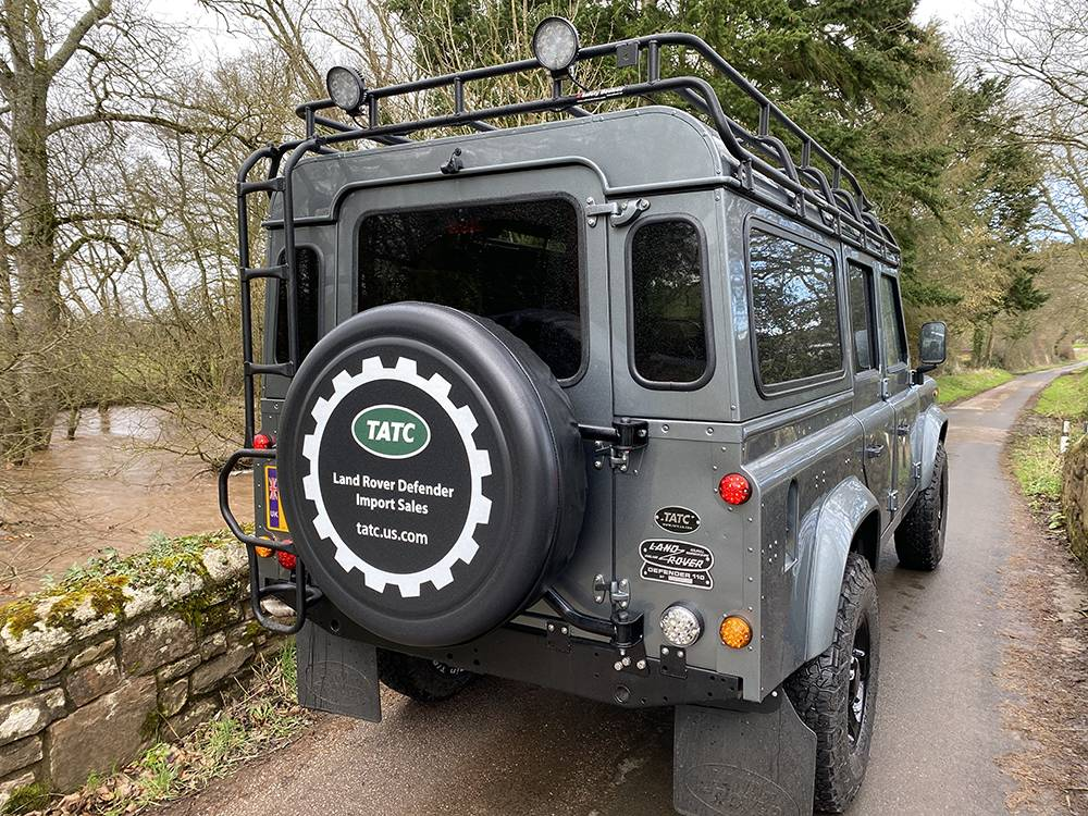 Land Rover D110 Metallic Grey 8574