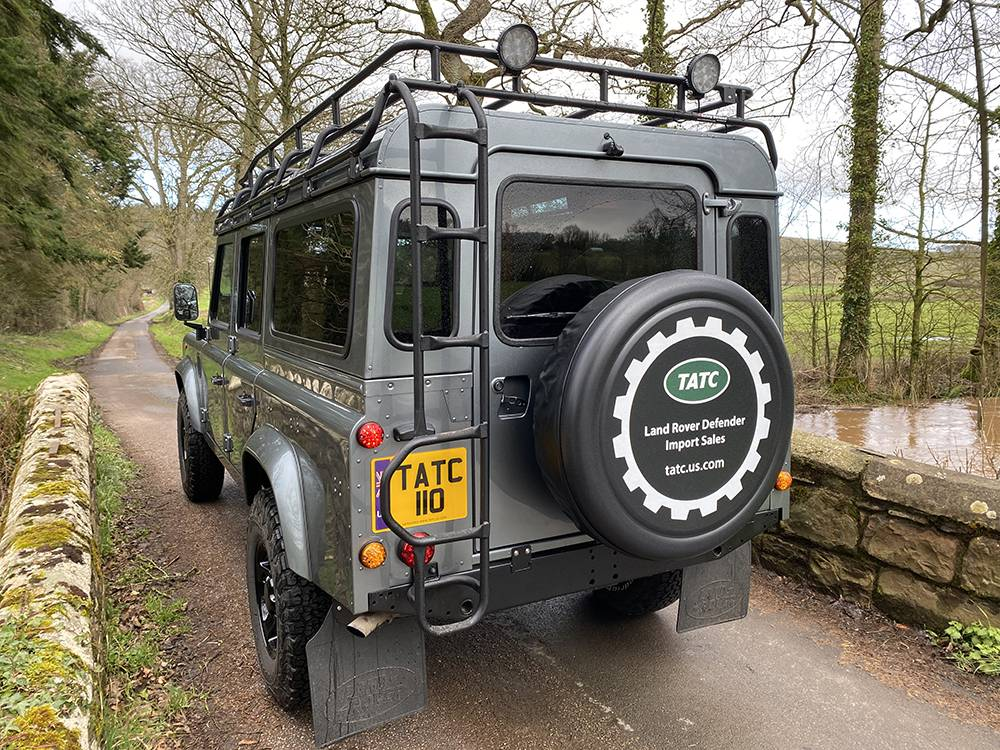 Land Rover D110 Metallic Grey 8575