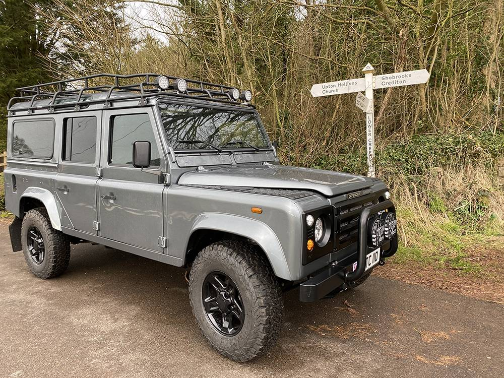 Land Rover D110 Metallic Grey 8577