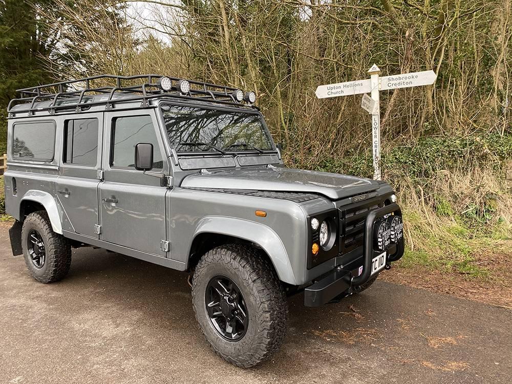 Land Rover D110 Metallic Grey 8577