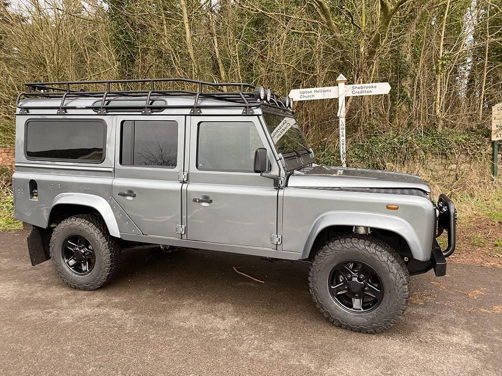 Land Rover D110 Metallic Grey 8578