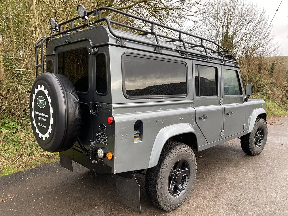 Land Rover D110 Metallic Grey 8580