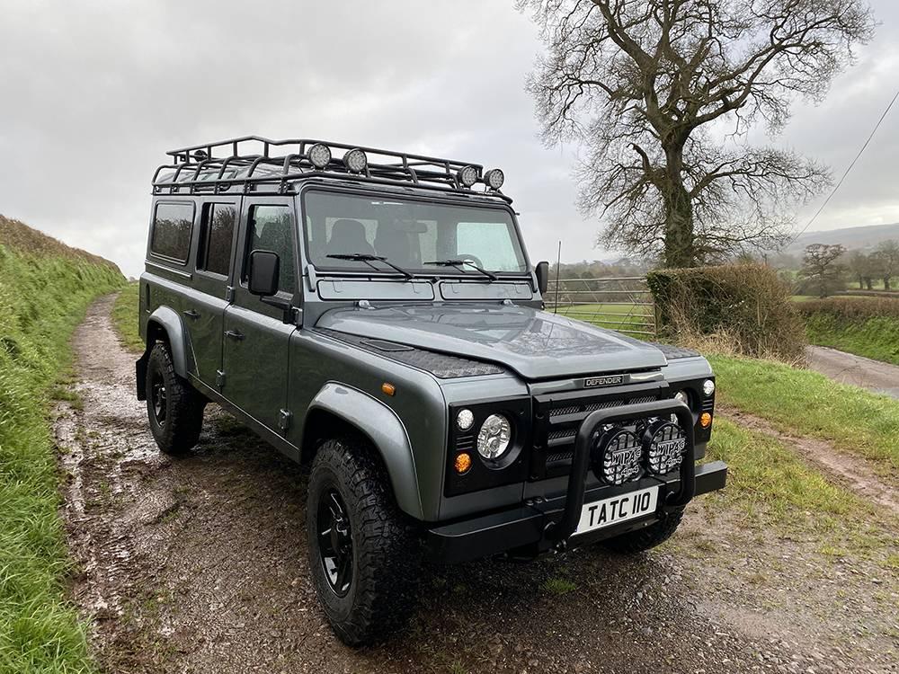 Land Rover D110 Metallic Grey 8586