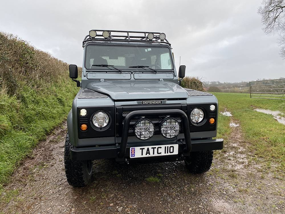 Land Rover D110 Metallic Grey 8588