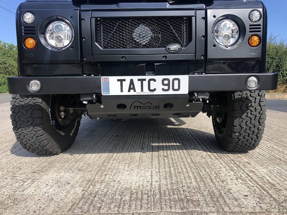 Land Rover Defender 90 Black KBX   16