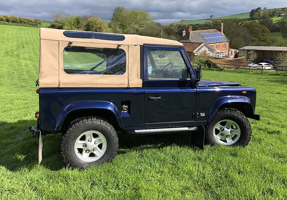 Dark Blue 90 Rear Side