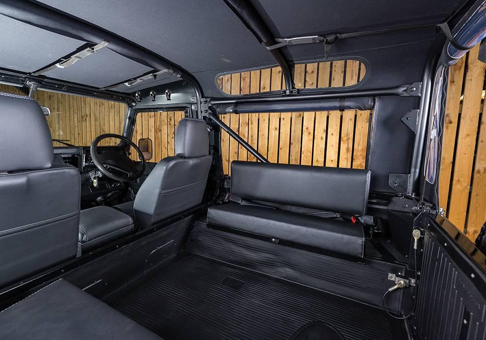 TATC D 90 Beluga Interior