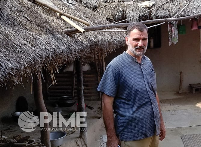Fr. Gian Paolo Gualzetti, PIME, works with rural communities, but he primarily serves in the city of Dhaka.